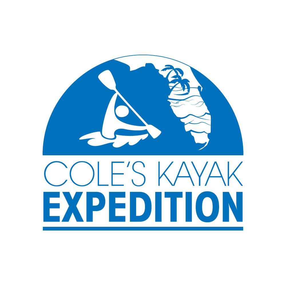 Cole's Kayak Logo Design Brooksville, FL