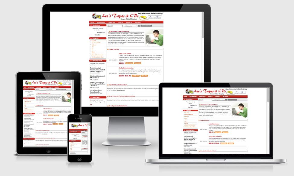 eCommerce Website & Shopping Cart Design and Coding — Orlando, FL