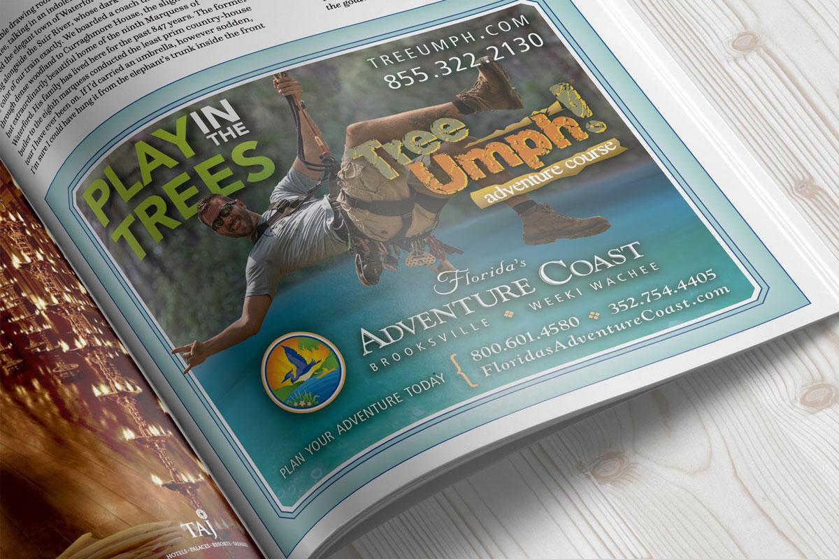 Hernando County Magazine Ad Graphic Designer