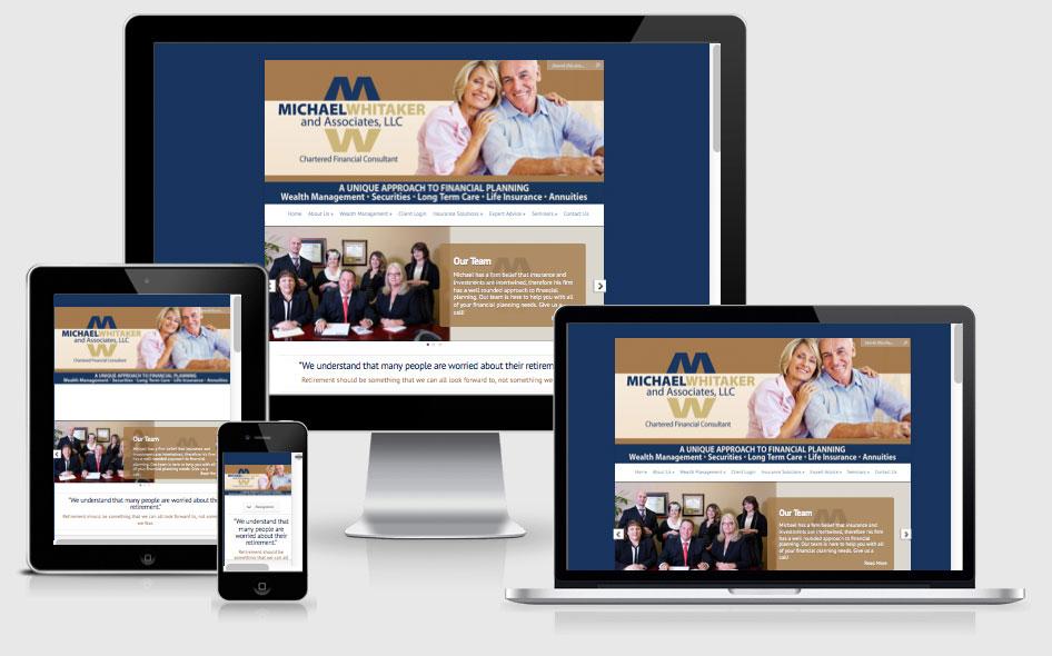 Financial Services Website Design — The Villages, FL