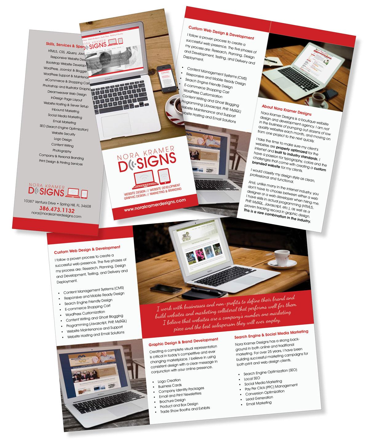 Nora Kramer Designs Brochure