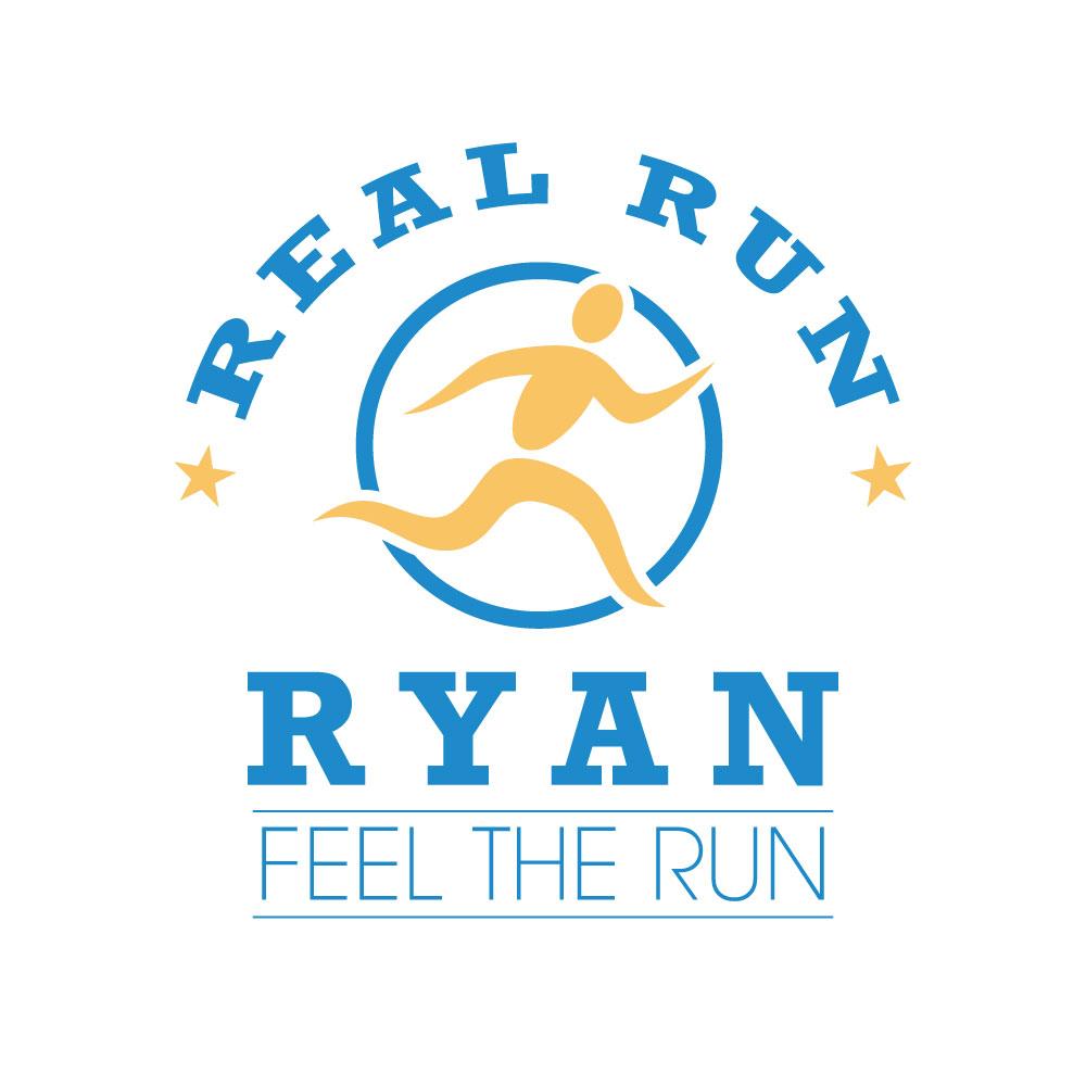 Real Run Ryan Logo Design Alpharetta, GA
