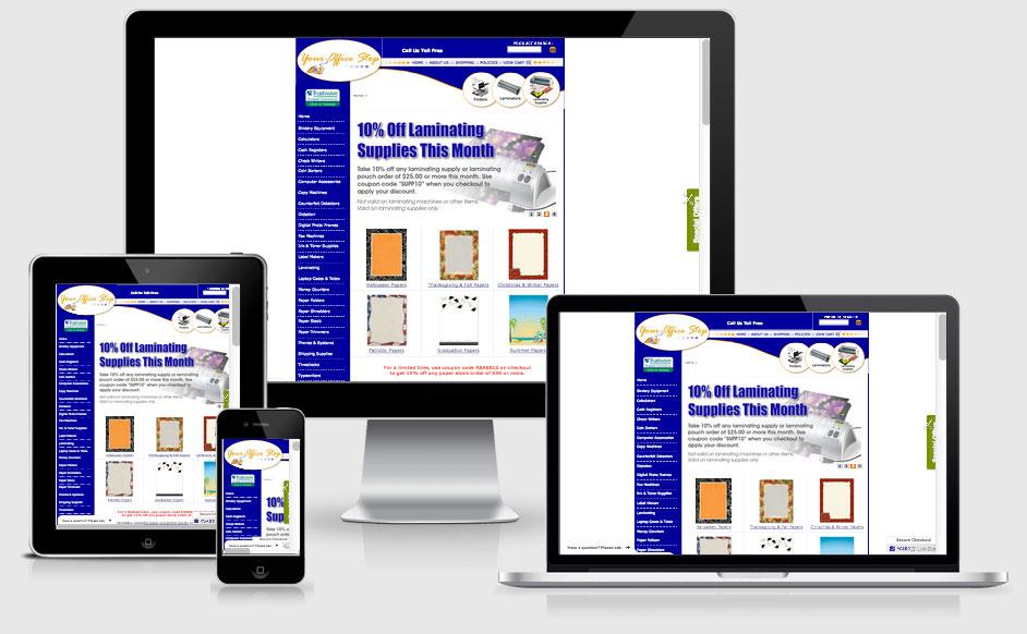 eCommerce Website Built on the Yahoo Stores Platform — Tampa, FL
