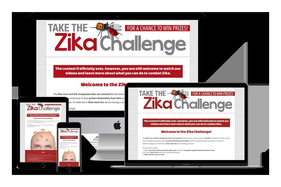 Zika Challenge Contest — New Port Richey, FL Website Design
