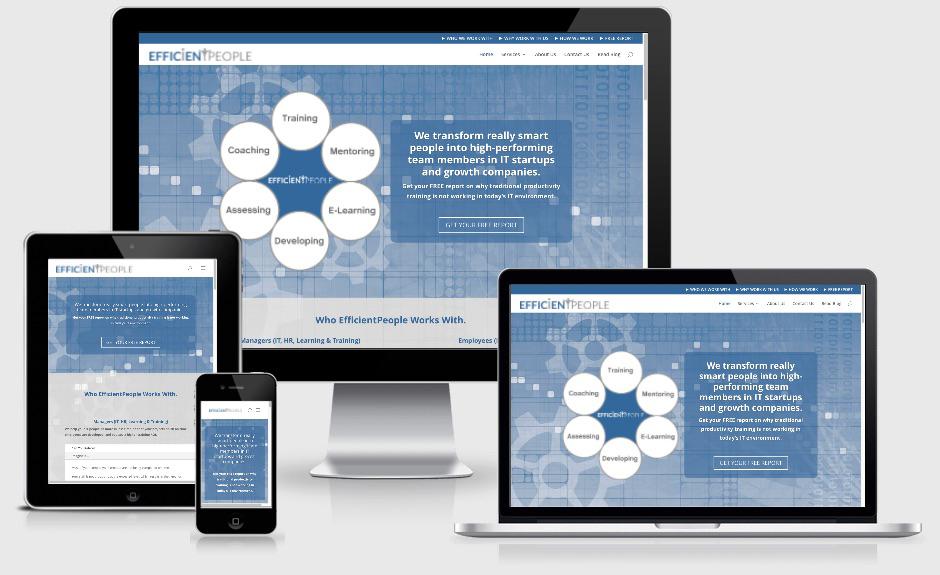 IT Training and Coaching Firm — Atlanta, GA Website Design