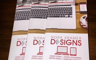 Nora Kramer Designs Printed Brochure