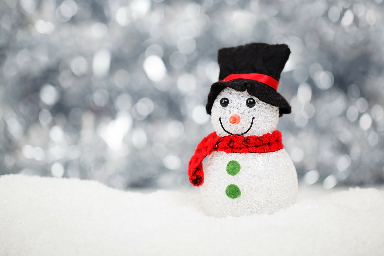 snowman holiday emails