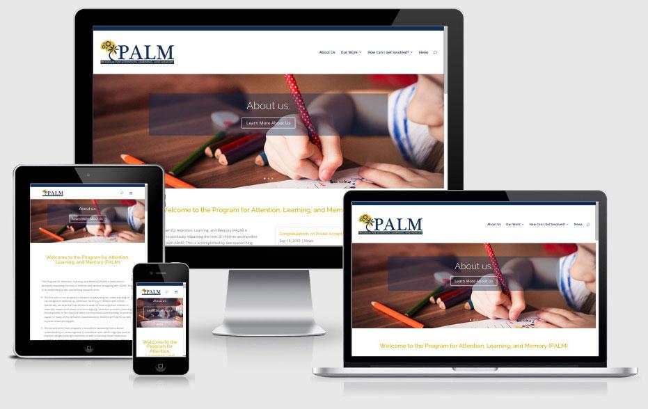 PALM Lab Florida International University — Miami, FL Website Design