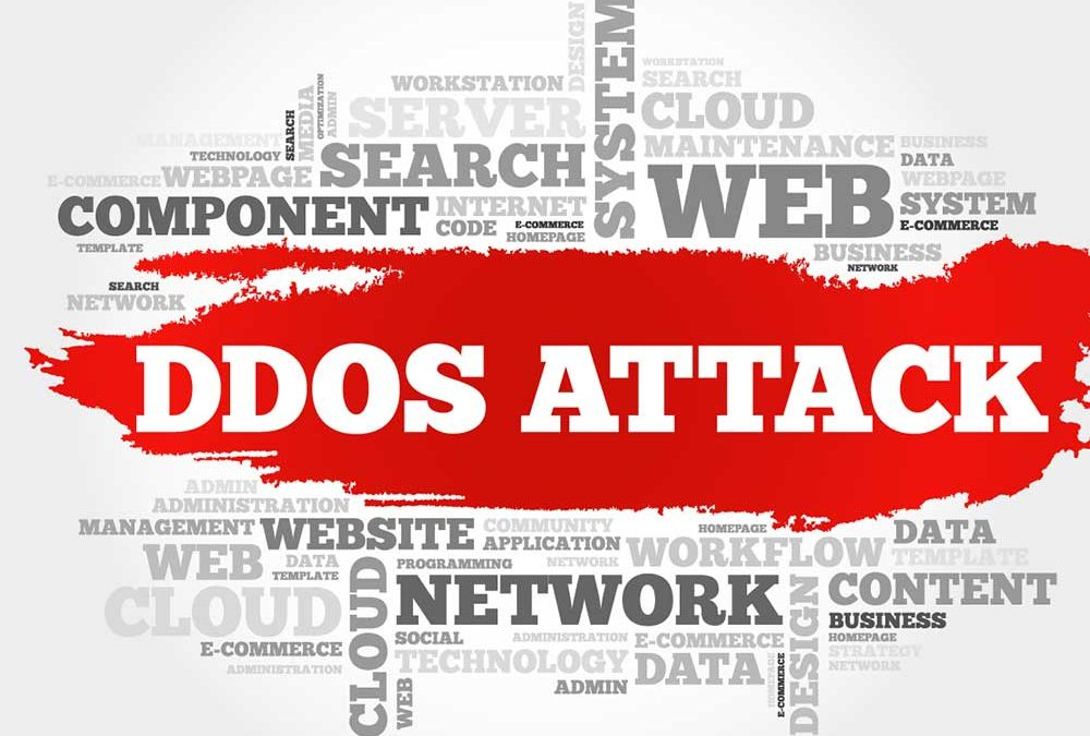 Large Scale DDoS Attack Slows Internet