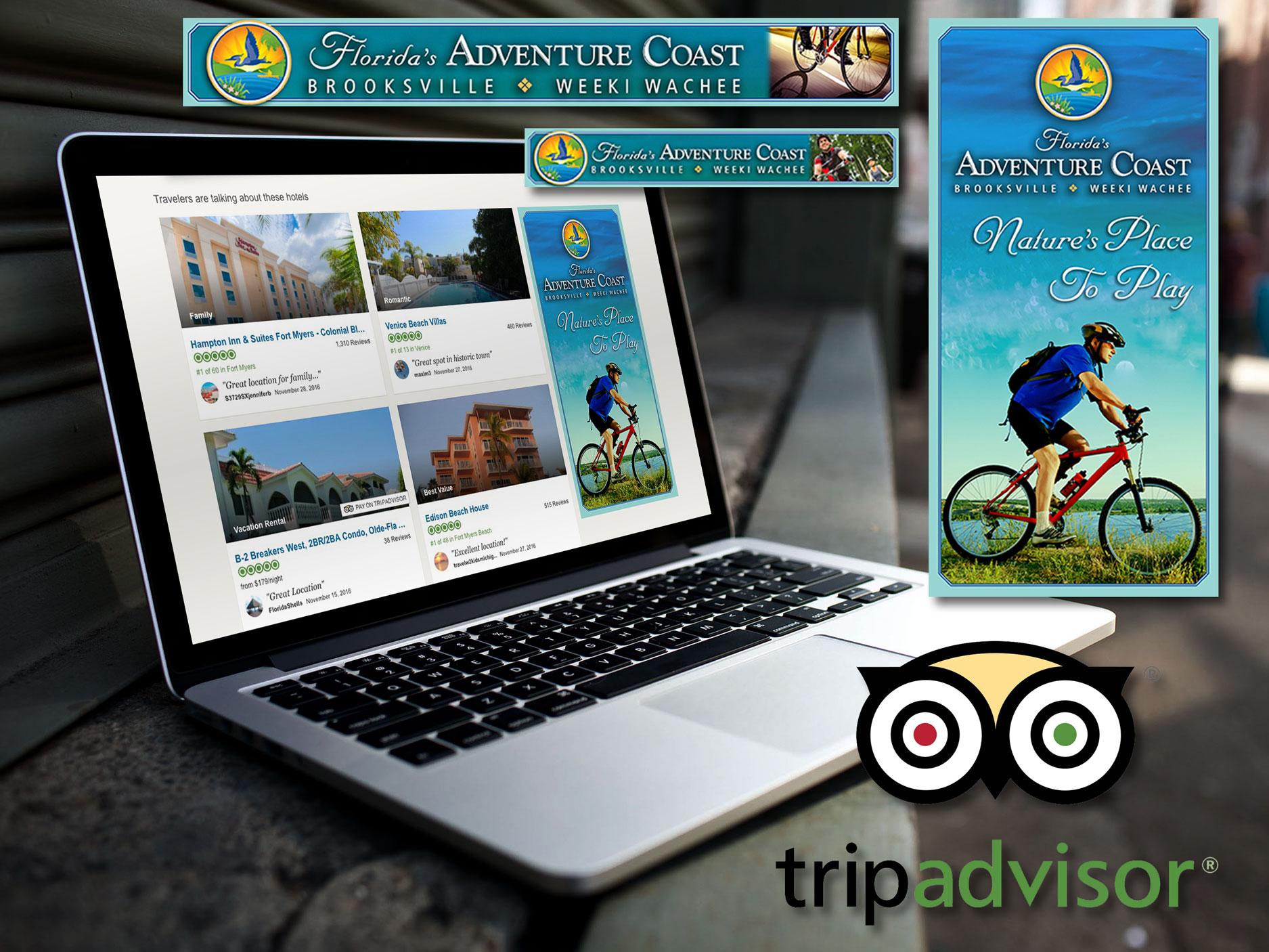 Hernando County Trip Advisor Banner Ad Design