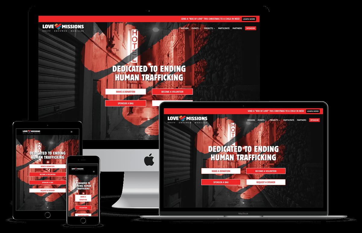 Love Missions Website Designer in Spring Hill FL