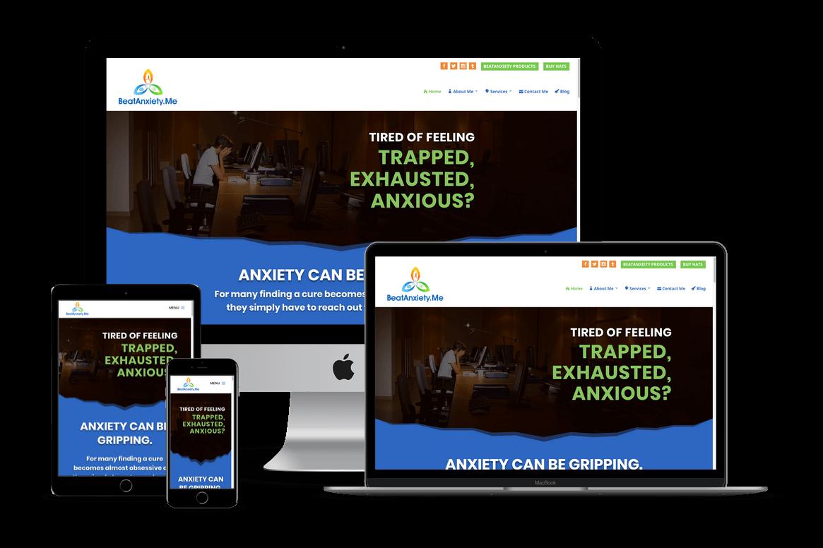 Personal Coaching Website Design — Brooksville Website Designer / Hernando, FL
