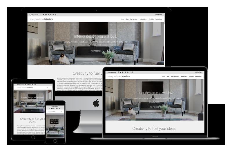 Interior Design Website Designer - Tampa, FL