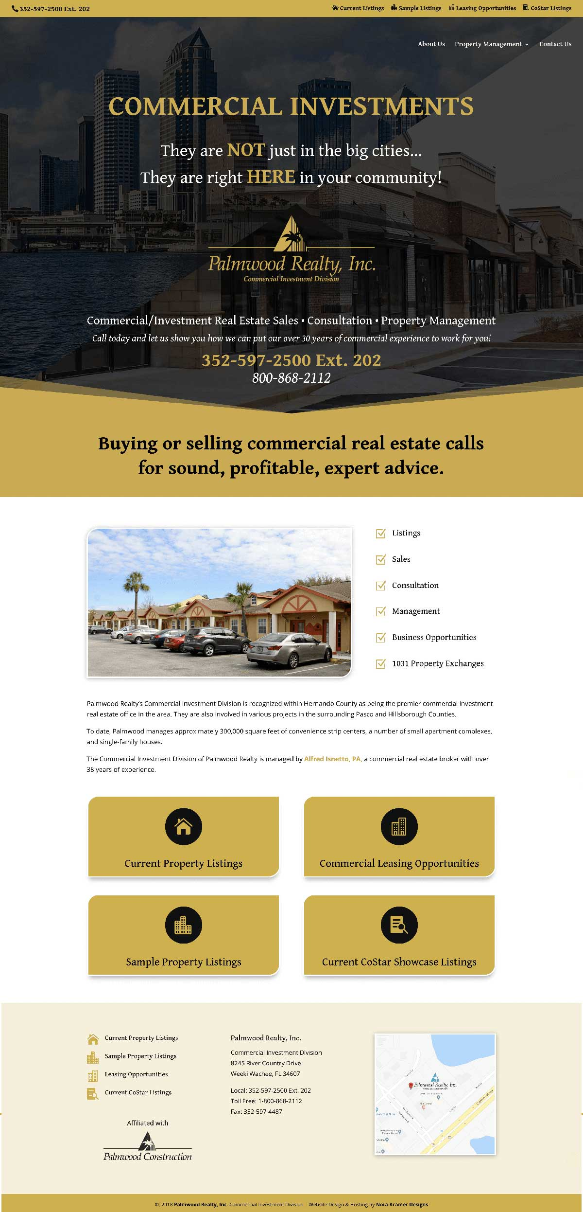 real estate website design in tampa