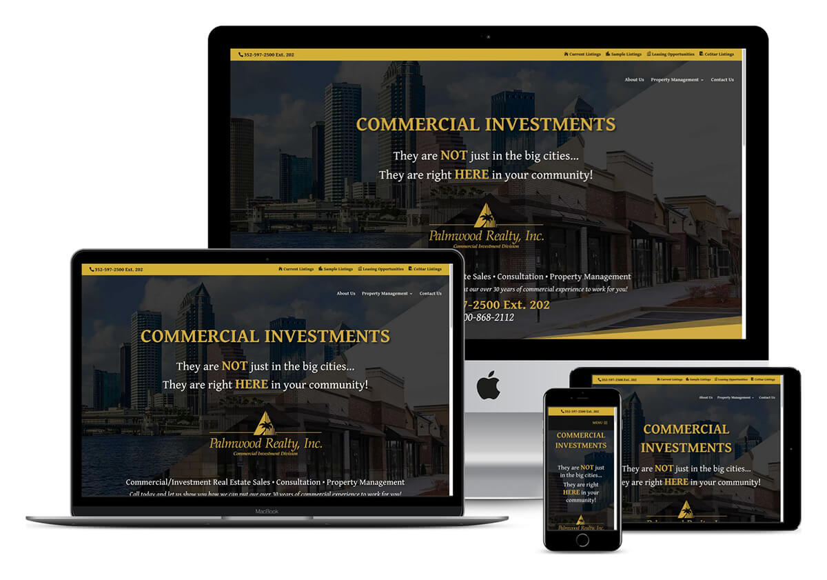 real estate website designer tampa