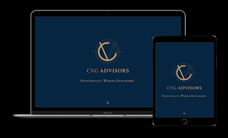 CVG Advisors - Website Design for Financial Services