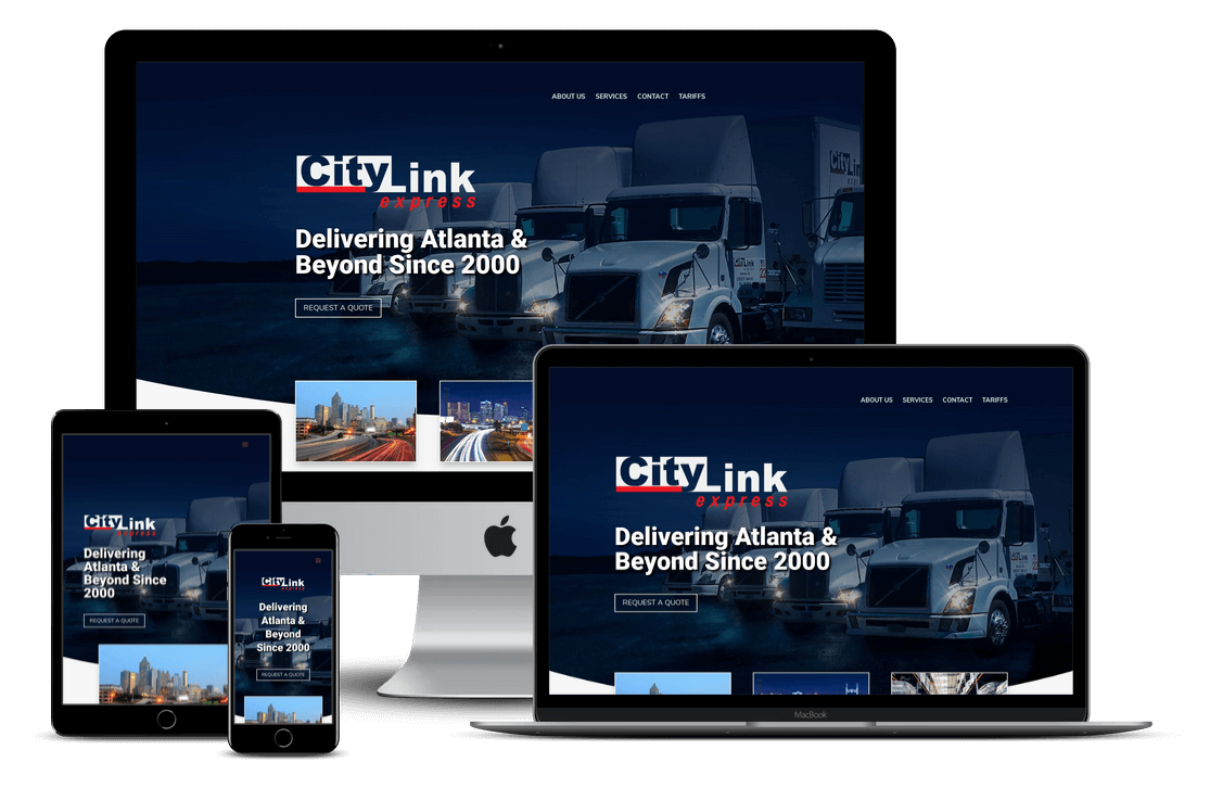 City Link — Florida Trucking Company Website Design