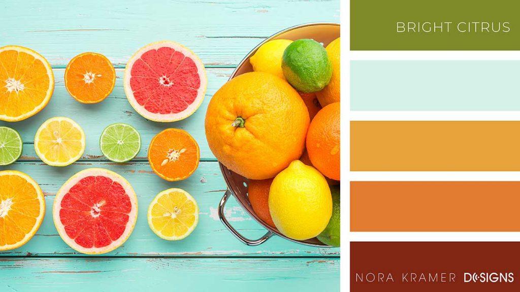 Bright Citrus Color Palette