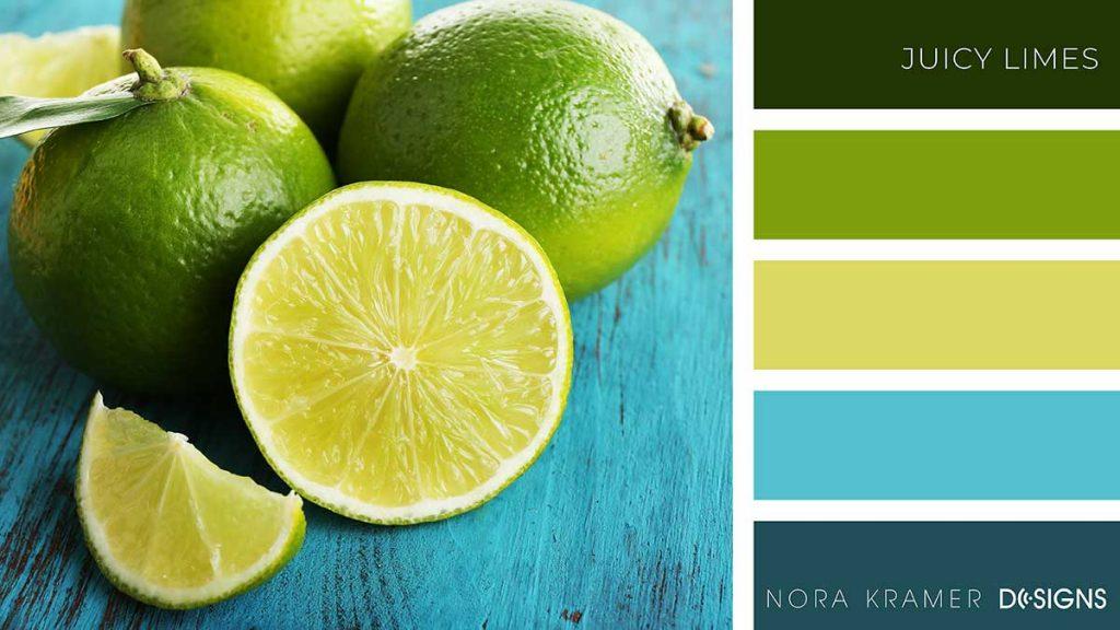 Juicy Limes Color Palette