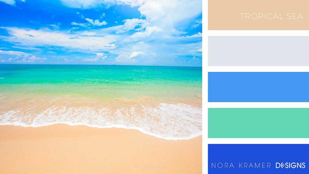 Tropical Sea Color Palette