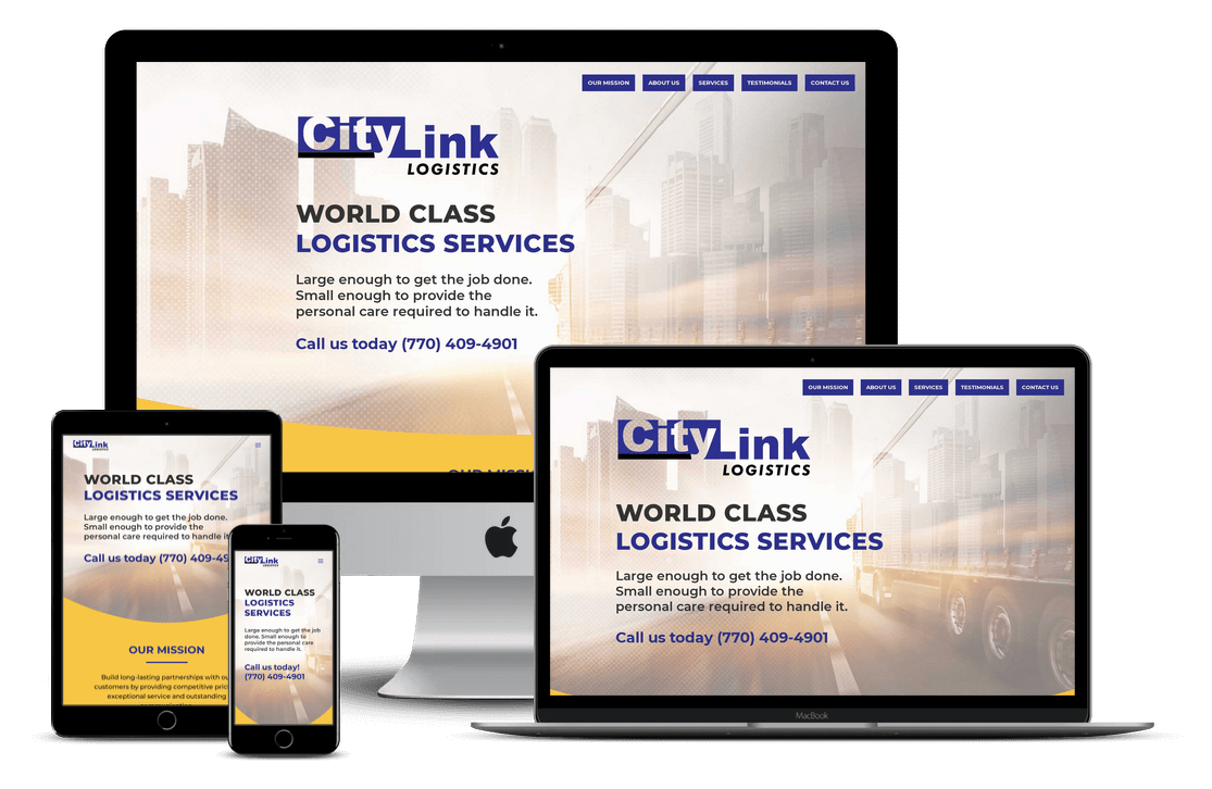 Trucking & Logistics Website Design - Tampa, FL