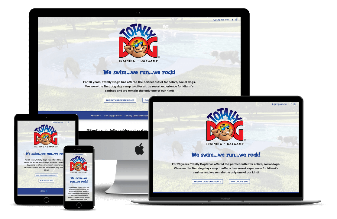Totally Dog Kennel — Miami, FL Website Design