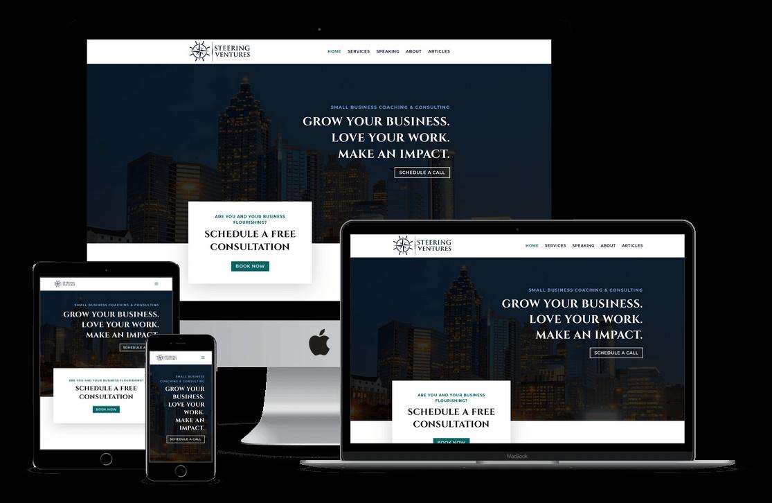 Business Coach Web Design in Tampa FL