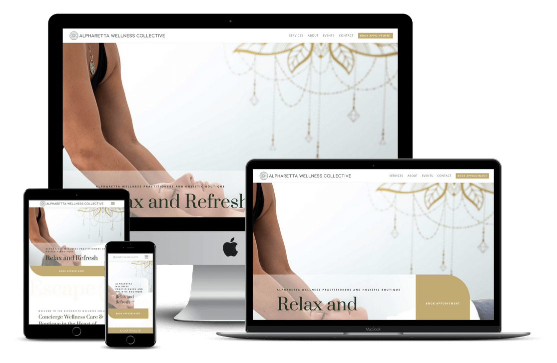 Spa Health Wellness Web Design in Orlando, FL