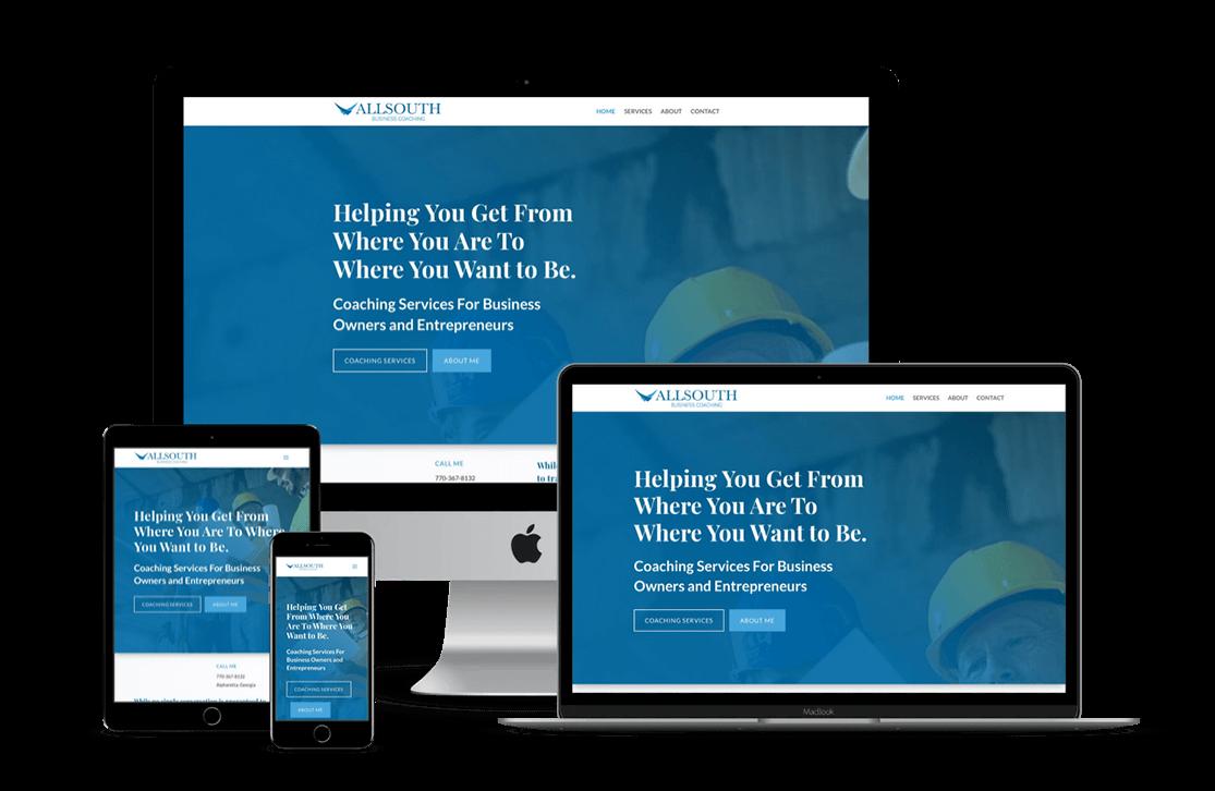 Business Coach Website Design — Miami, FL