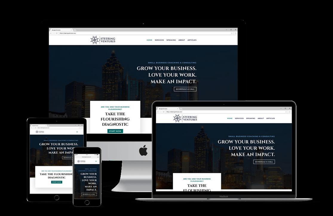Business Coach Website Design — Tampa, FL