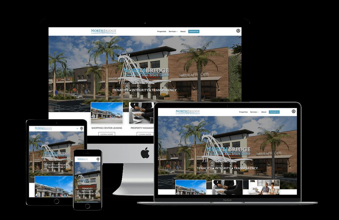 Commercial Real Estate Agency Website Design — Tampa, FL