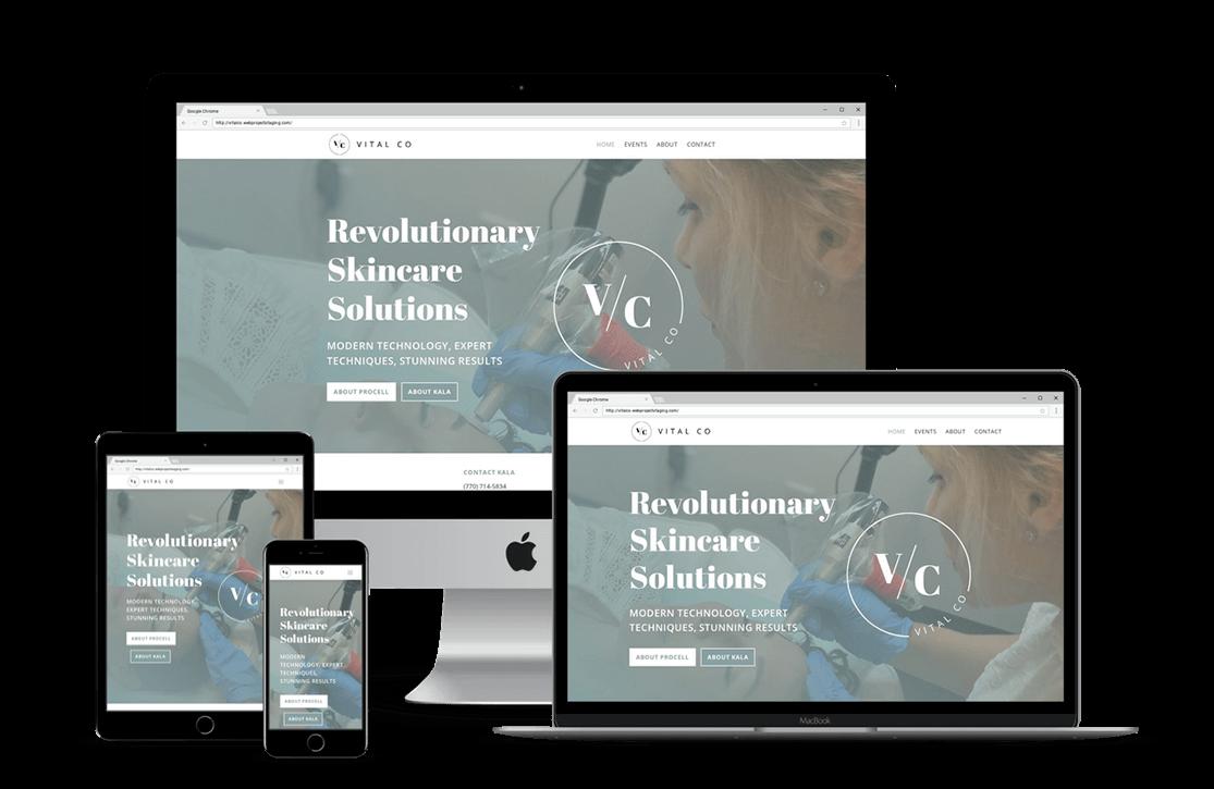 Day Spa Website Design — Tampa, FL