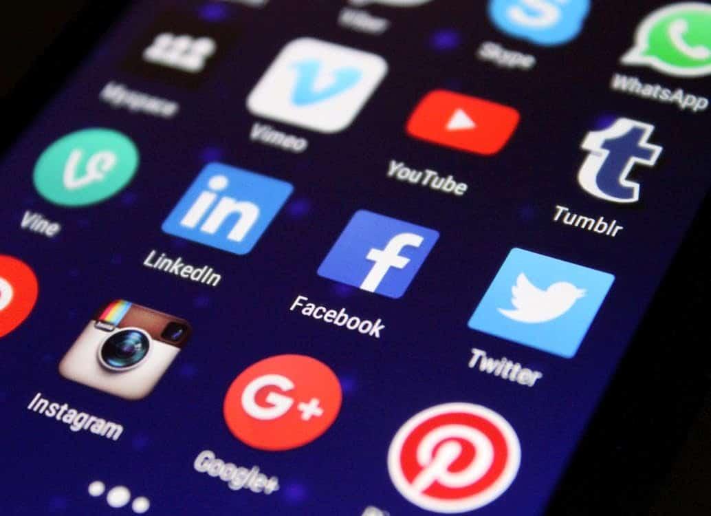 The social media concept