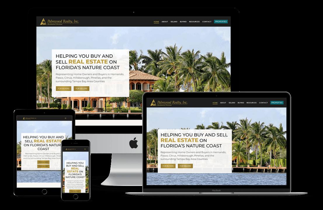 Palmwood Realty Hernando Web Designer