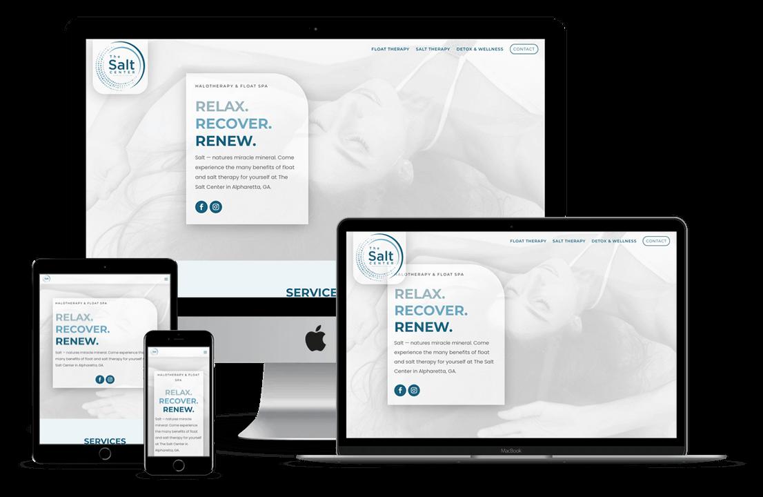 The Salt Center Hillsborough Website Design